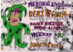 14/09/16 : VELUXED + DERINËGOLEM + DANSE MUSIQUE RHÔNE-ALPES + DJ U.U @ KRASPEK