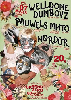 SAM 07/03 : WELLDONE DUMBOYS + PAUWELS + MHTO + HORDUR