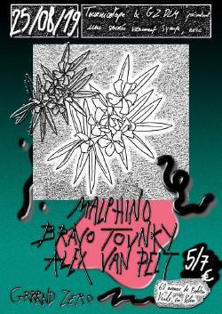 DIM 25/08 : MALPHINO + BRAVO TOUNKY + ALEXANDRE VAN PELT
