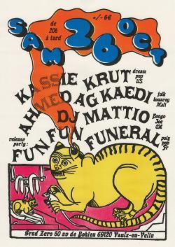 SAM 26/10 : FUN FUN FUNERAL + KASSIE KRUT + AHMED AG KAEDY + DJ MATTIO