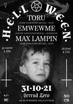 DIM 31 OCT : TORU, EMWEWME, MAX LAMPIN