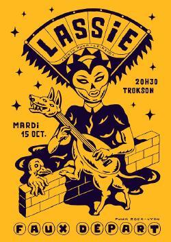 MAR 15/10 : LASSIE + FAUX DÉPART