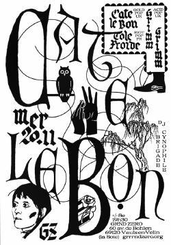 MER 20/11 : CATE LE BON + TÔLE FROIDE + GRIMM GRIMM + DJ BRIGADE CYNOPHILE