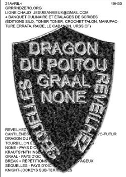 SAM 21/04 : REVEILHEZ + DRAGON DU POITOU + NONE + GRAAL + SEQUELLES