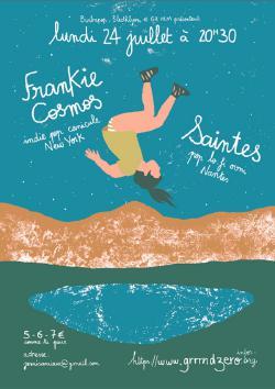 LUN 24/07 : FRANKIE COSMOS + SAINTES