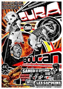 SAM 08/09 : GURA + BOUCAN @ Bar des Capucins