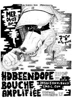 MER 04/07 : HDBEENDOPE + BOUCHE AMPLIFIEE