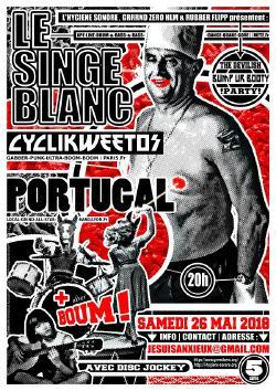 SAM 26/05 : LE SINGE BLANC + PORTUGAL + CYCLIKWEETOS