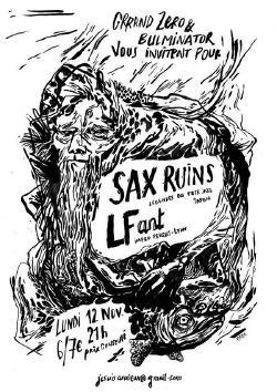 LUN 12/11 : SAX RUINS + LFANT