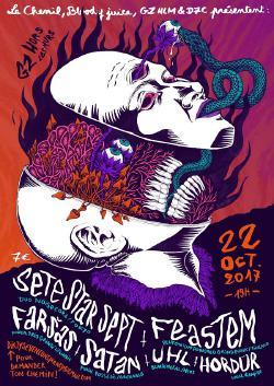 DIM 22/10 : SETE STAR SEPT + FEASTEM + FARSAS + SATAN + UHL + HORDUR