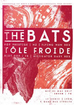 MER 31/05: THE BATS + TÔLE FROIDE @ Sonic