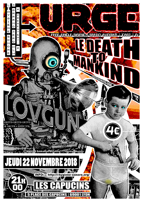 urge le death to mankind lovegun capucins gzhlm 600 09569