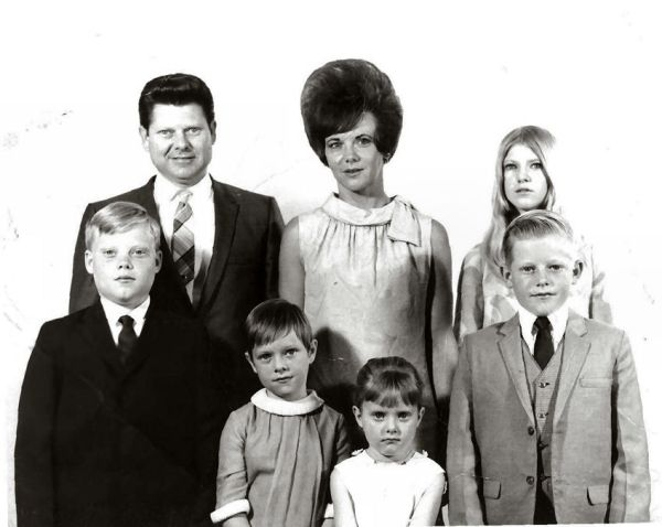 Crosby Family Church 1968